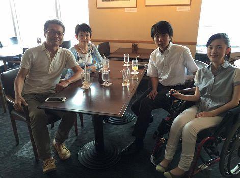 ノーベルファーマ株式会社 塩村仁社長と懇談