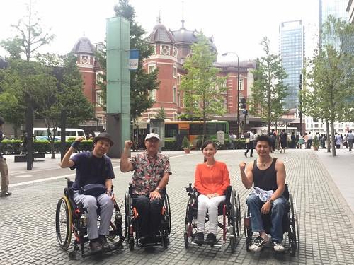 車椅子ユーザー目線からのWheeLog