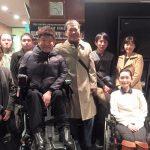 塩村仁社長と貝谷嘉洋さん、そしてその関係者の方々とお会いしました。