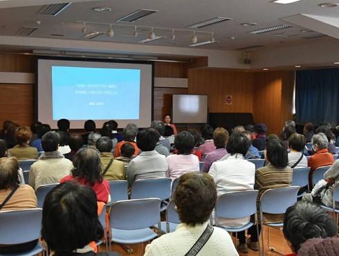 板橋区にて講演「世界一のバリアフリー都市を目指して私たちにできること」