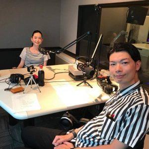 ラジオ番組『WITH』に織田友理子代表がゲスト出演されました