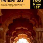 インドのGNEミオパチー患者会オンラインイベントに参加させて頂きました。
