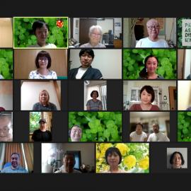 PADM夏のオンライン交流会を開催いたしました。